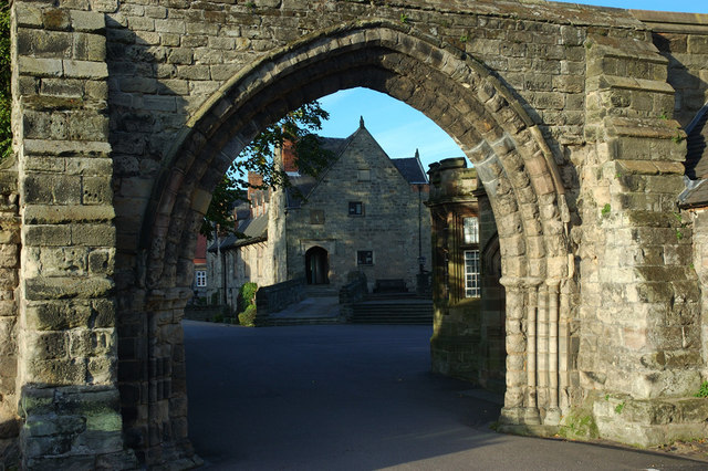 Arch and Old Priory, Repton