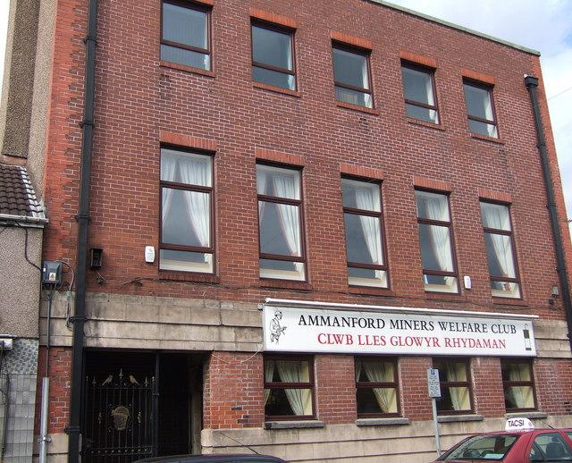 Miners' Welfare Club,  Rhydaman/Ammanford