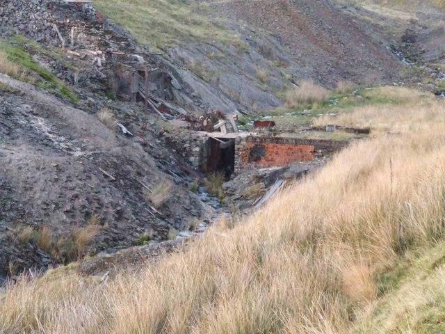 Old lead mine