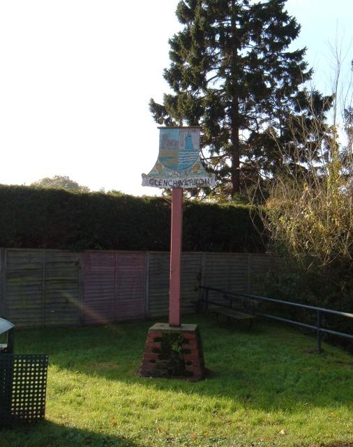 Clenchwarton village sign