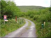 V9036 : Dunbeacon Equestrian Centre by Richard Webb