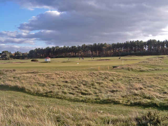 Across the Nairn Golf Course