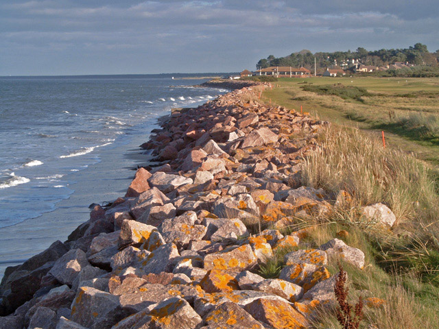 Coastal defence - Nairn Golf Course