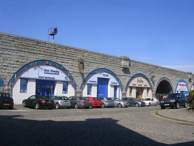South College Street Arches, Aberdeen