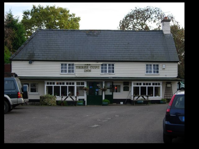 The Three Cups Inn, Three Cups Corner, East Sussex