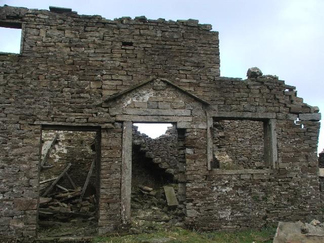 Derelict Farm at Hunters Sleet.
