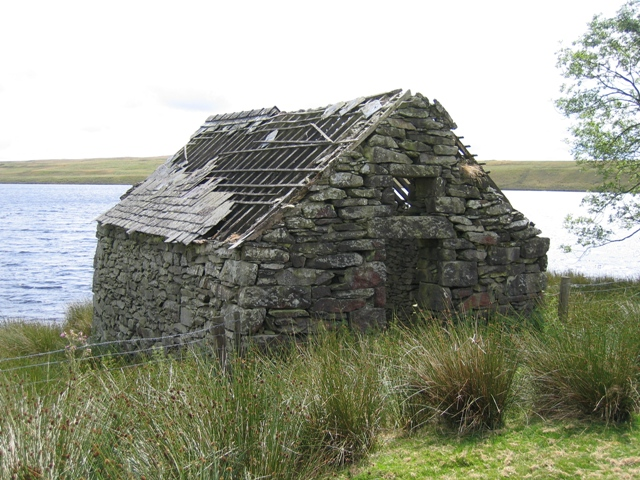 Boathouse at Ty'n Llyn, Llyn Alwen