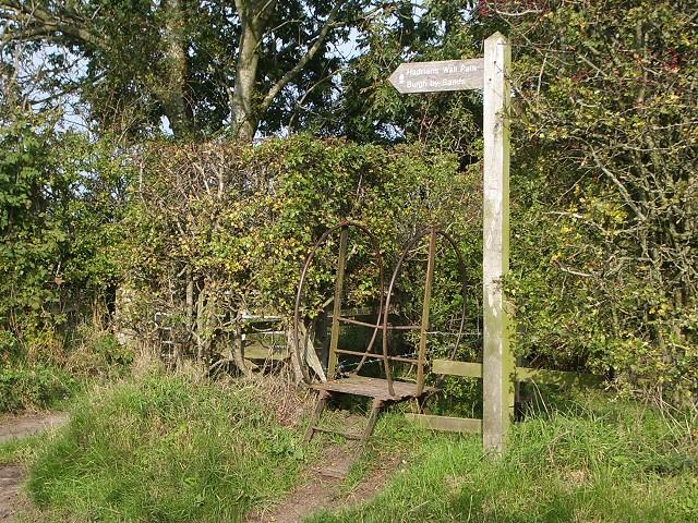 Stile on Hadrians Wall Path