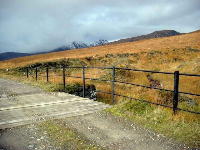 Bridge on the Fannich track