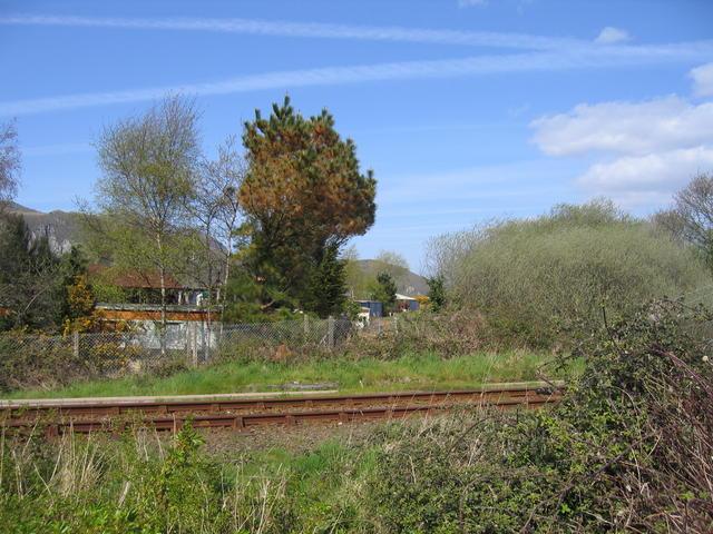 Welsh Highland Railway crossing