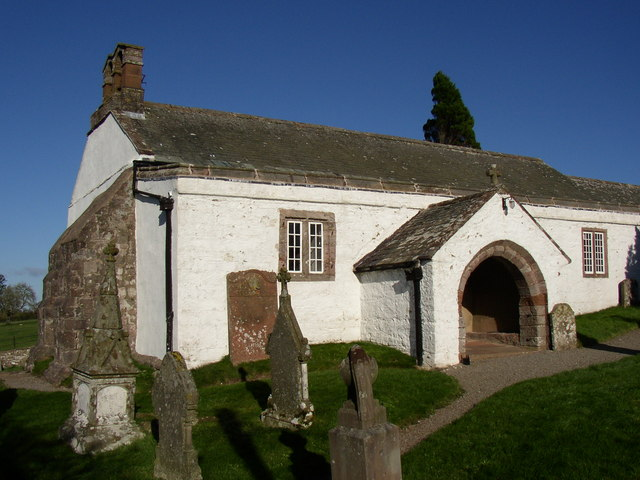 West end of St Kentigern's Church, Castle Sowerby