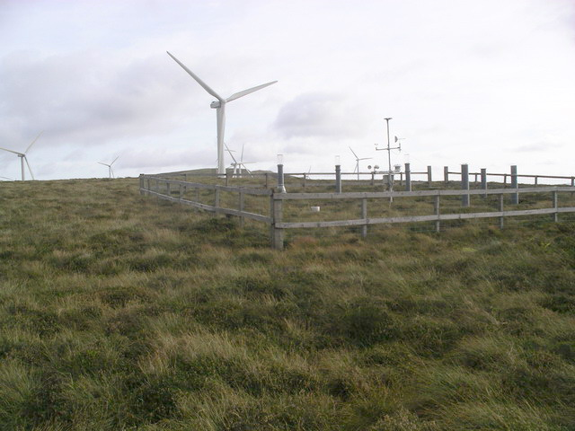 Moorfoot Hills weather station