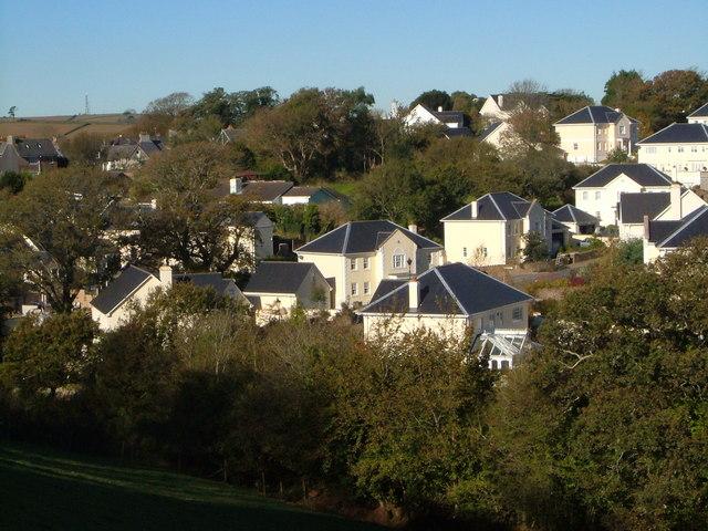 New housing on Ayleston Park, Modbury