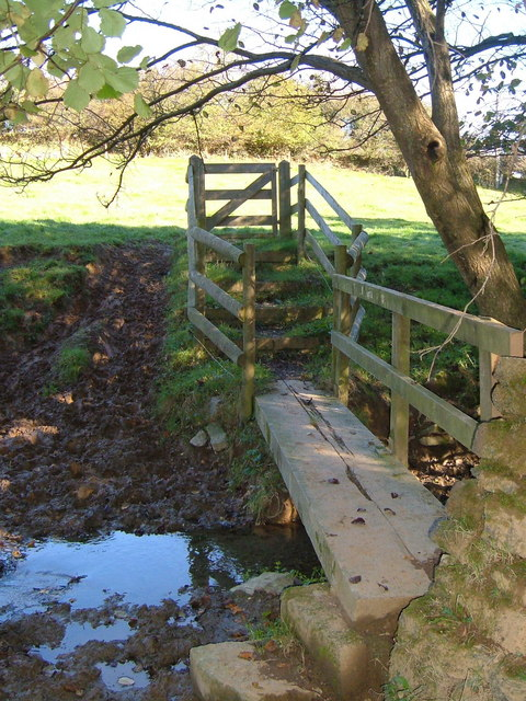 Footbridge on Modbury Footpath 2
