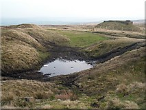 SE0021 : Evidence of quarrying, Slate Delfs Hill by Phil Champion