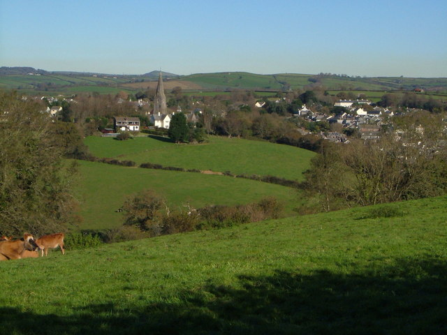 Modbury from the southwest