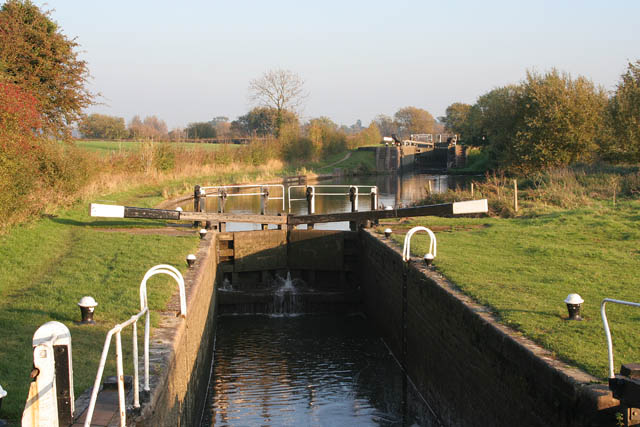 Grand Union Canal, Leicester Branch, near Newton Harcourt
