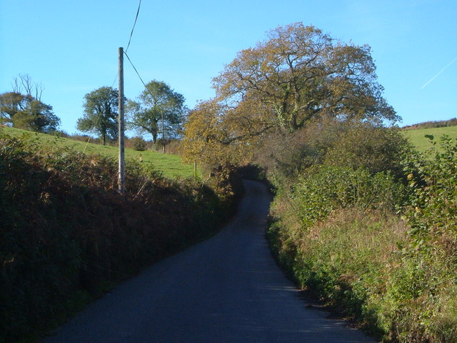 Lane to Hunts Cross