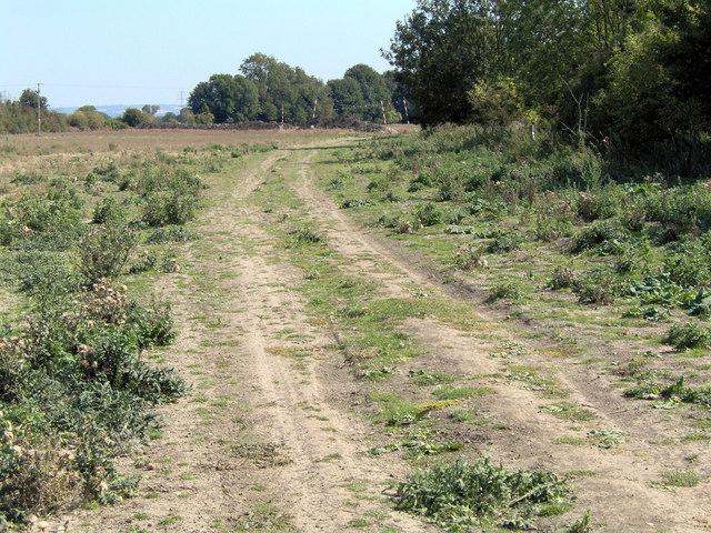 Byway to south of East Hagbourne