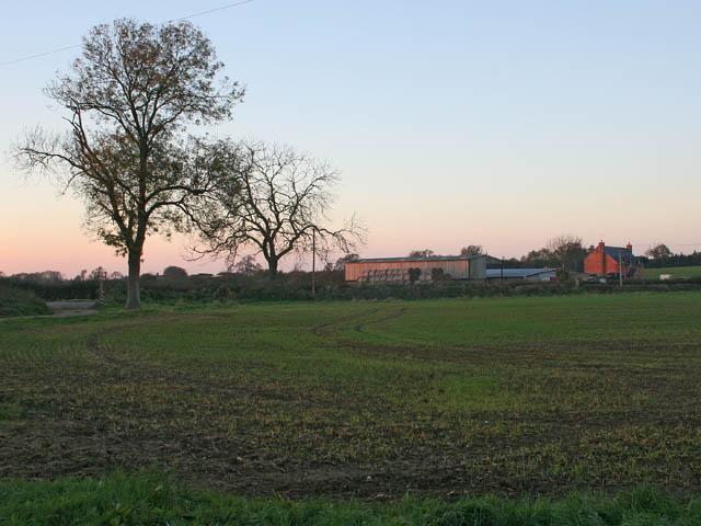 Farmland near Arnesby