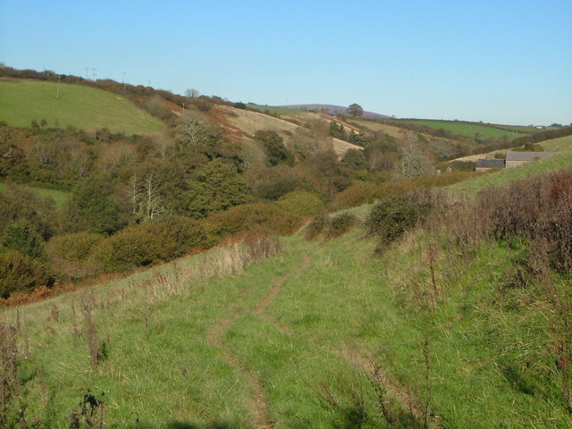 Ayleston Brook valley