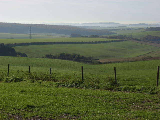 Farmland near Wexcombe