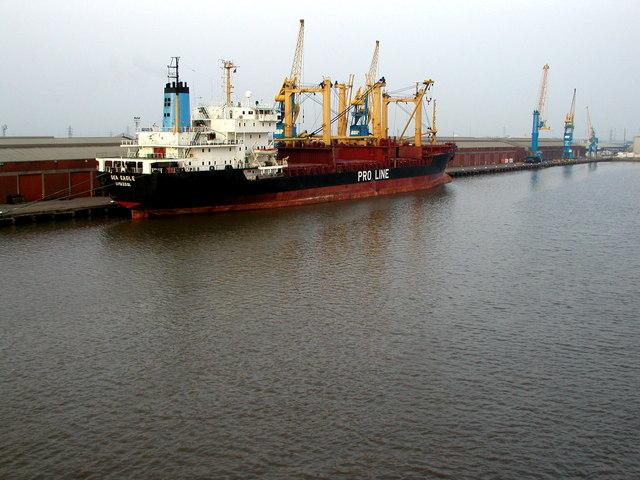 King George Dock Ship