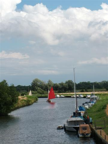 The River Waveney, Beccles, Suffolk
