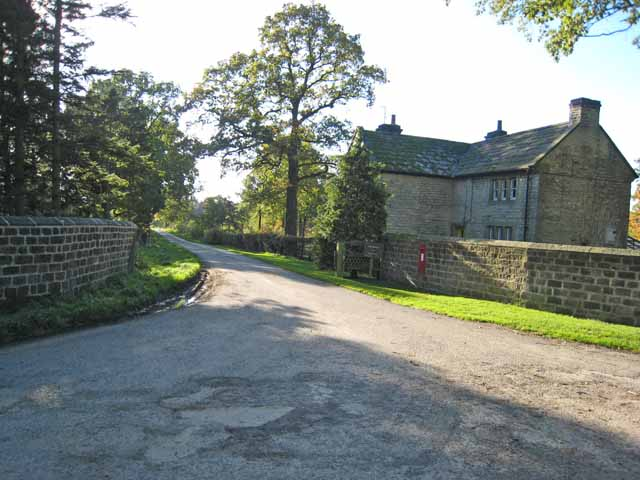 Driveway to Clifton Castle