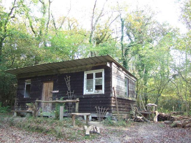 Woodman's hut, Coed Pengelli