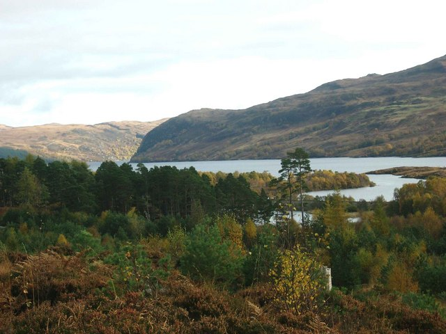 Loch Luichart from the Fannich track