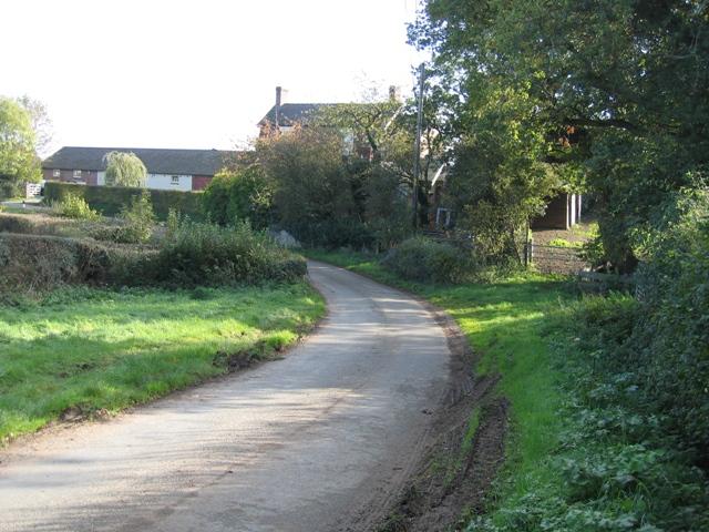 Golly Farm in the hamlet of Golly