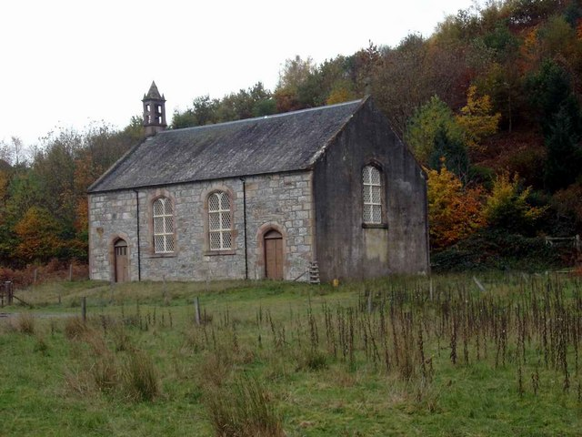 Disused church, Strathconon