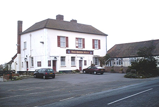 The Green Man, Navestock Side
