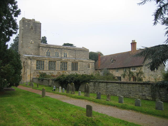 The Priory Church of St Mary the Virgin, Deerhurst