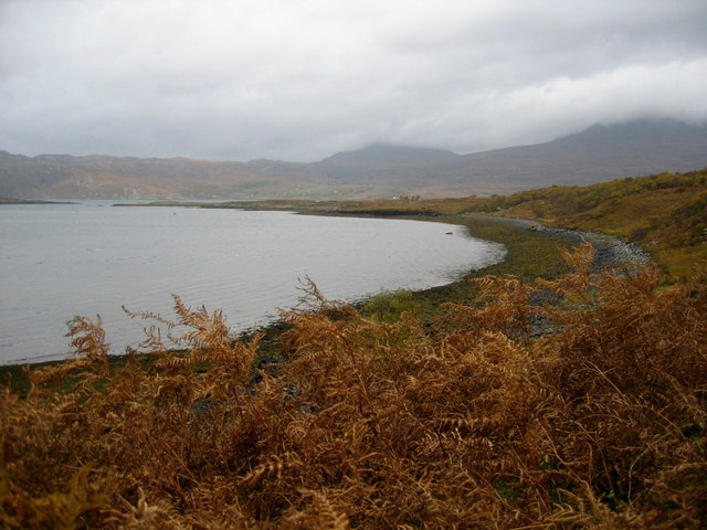 Ob Mheallaidh, near Shieldaig
