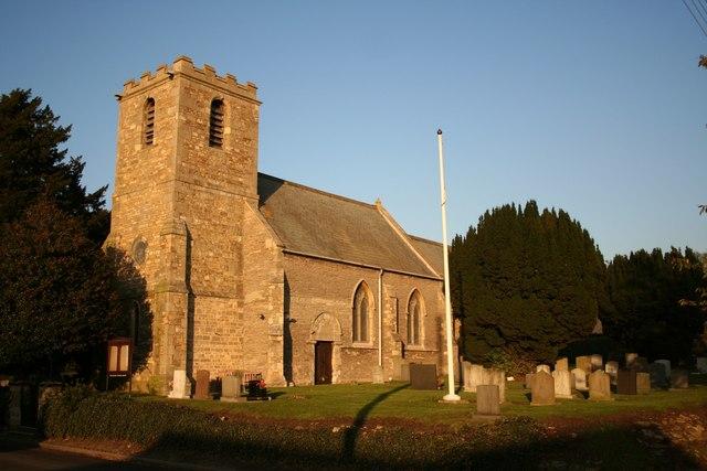 All Saints' church, Upton