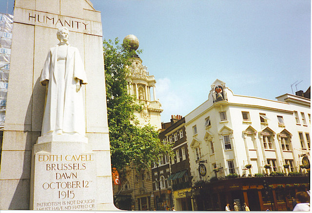 Edith Cavell Statue