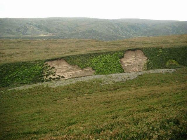 Erosion on the Allt Breac