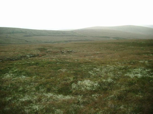 Moorland at Carn Monadh nan da Allt