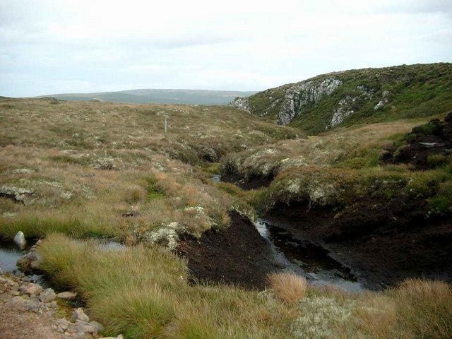 Headwaters of a tributary of the Allt Odhar