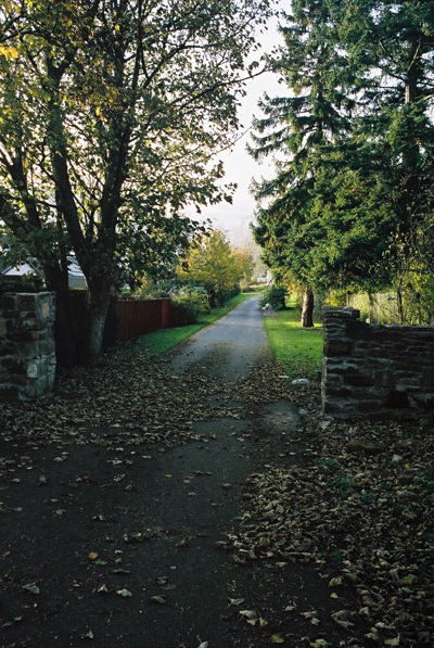 Inviting driveway off Stratherrick Road, Inverness
