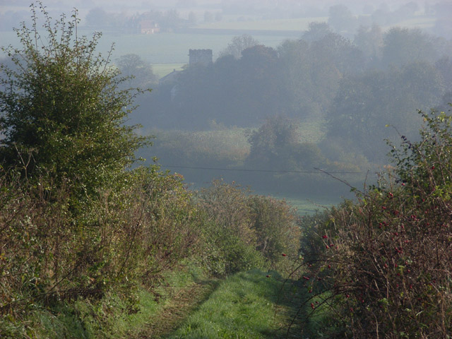 Byway above Shalbourne