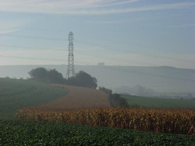 Farmland  near Marten