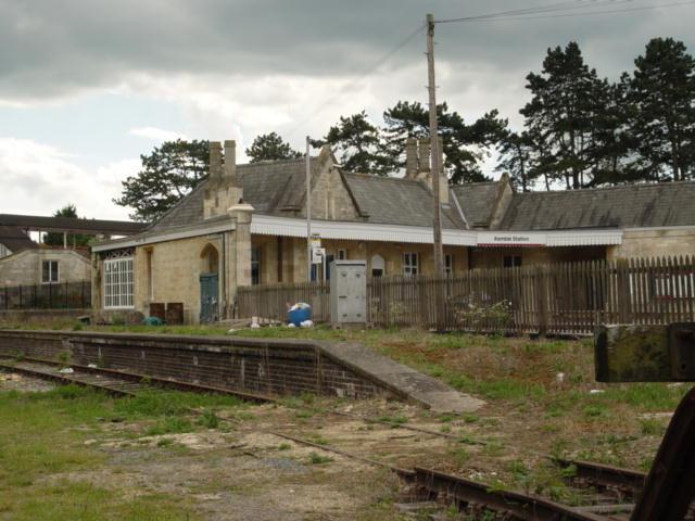 Kemble Railway Station Cirencester Branchline Bay