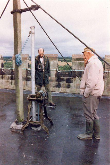 Wybunbury Tower - top