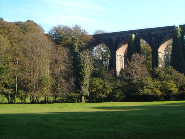 Slade Viaduct from the north