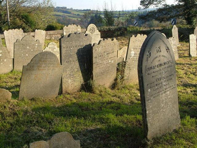 Gravestones, Cornwood