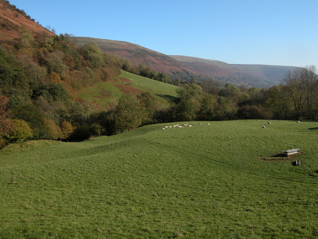 View down Vale of Ewyas from Talsarn