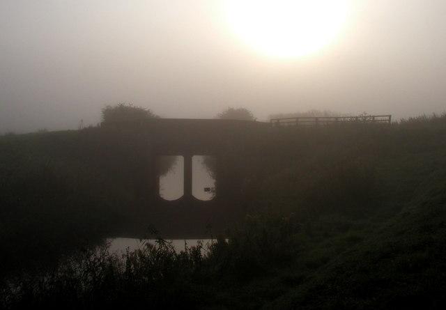 The Misty Brick Bridge